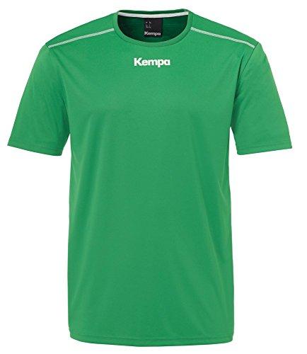 FanSport24 Kempa Handball Polyester Shirt Kurzarm Training Top Rundhals Herren grün Größe M