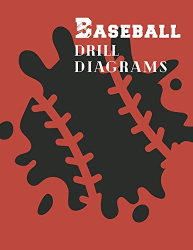 Baseball Drill Diagrams: 50 Blank Diagrams that Coaches and Players Need for Planning, Plays & Drills (with Notes Section) Splash, large format (Sports)