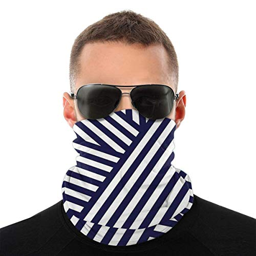 Mike-Shop Nautique Bandaids Neck Warmer Neck Guêtres Face Scarf Warmer Soft Balaclava Scarf Face Cover with 6 Filters