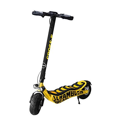 Scrambler Ducati Monopattino elettrico Cross-E, nero e giallo, Taglia universale