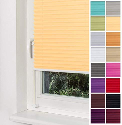 Plissee Gelb HOME-VISION