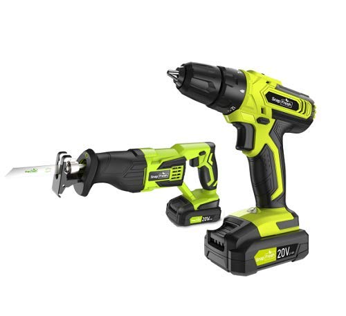 Cordless Drill with Reciprocating Saw