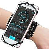 WBTY Brazalete de teléfono para correr con rotación 360 para teléfono móvil desmontable 4-6.5 iPhone 12/12 Pro/SE 2020/11/11 Pro/XS/XR/X, para entrenamiento deportivo