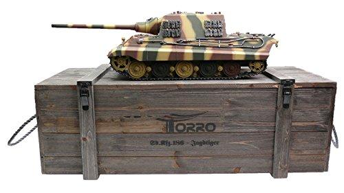 TORRO 1112200781 - RC Jagdtiger BB Sommertarn 1/16, Panzer