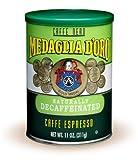 Medaglia D'Oro Italian Roast Decaffeinated Espresso Coffee, 11 Ounce (Pack of 12)