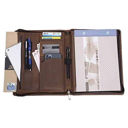 多機能クリップボード クリップファイル バインダー バインダー ポケット バインダーファイル A5 フォルダー 高級感溢れのビジネスバッグ クリップファイル 収納ポケット搭載 iPad保護ケース タブレットバッグ タブレットケース 面接/事務/会議/商談/