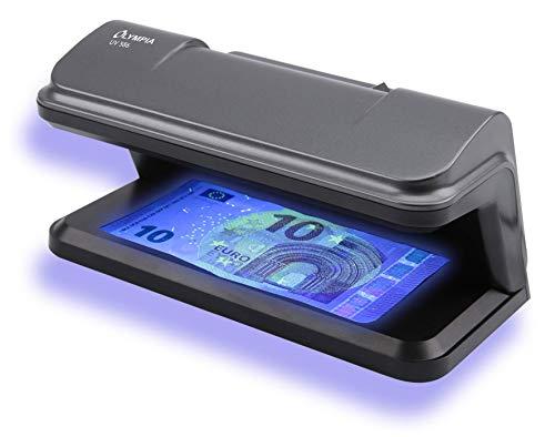 Olympia UV 586 Geldscheinprüfer - Prüfgerät / Lampe mit UV Röhre zur Überprüfung von Geldscheinen, Falschgeld, Kreditkarten und Ausweisen