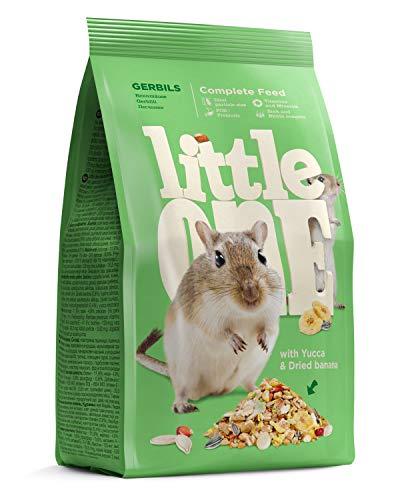 Little One Alleinfutter für Rennmäuse im Beutel, 5er Pack (5 x 400 g)