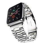 Evershop 42mm Edelstahl Apple Watch Strap für Serie 3 2 1, iWatch Strap Metall Cowboy Stil Apple...