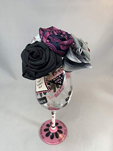 Half Dozen Mini Rose It is very Popularity popular Bachelorette Party upcycled Bouquet me from