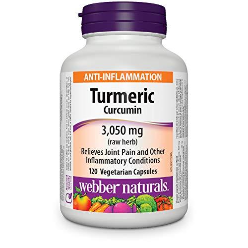 Webber Naturals Turmeric, 3,050mg, 120 Count