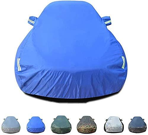 Mmmp Compatible con B-MW cubierta del coche de protección solar cubierta del coche de la sombrilla de aislamiento de la cubierta de coches Ropa interior al aire libre impermeable y transpirable lluvia