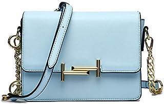 زينيف لندن حقيبة طويلة تمر بالجسم للنساء ، ازرق