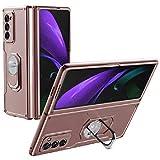 XJZ Compatible avec Samsung Galaxy Z Fold 2-5G Smartphone Housse Étui(Or...