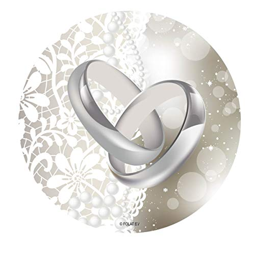 Folat Hochzeit Untersetzer (24Stück)