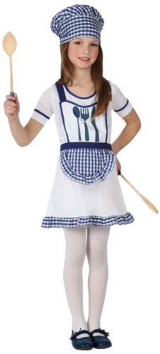 Atosa - 16003 - Costume - Déguisement Cuisinière Fille - Taille 4
