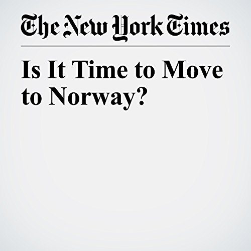 Is It Time to Move to Norway? copertina