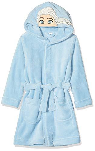 NAME IT Baby-Mädchen NMFFROZEN Batty Bathrobe WDI Bademantel, Blau (Cashmere Blue Cashmere Blue), (Herstellergröße: 92)