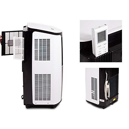 technik@all GREE Shiny Silent 9000, 3 in 1 mobiles Klimagerät mit Fernbedienung, R290 Kältemittel, 2,6 KW/9000 BTU