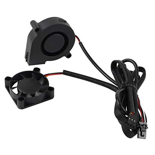 S-TROUBLE Accessori per stampanti 3D per Prusa i3 MK3 / 3S MK2 / 2.5 Cool Blower Fan Kit Extruder