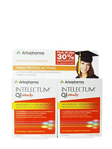 Arkocápsulas Intelectum Study Duplo, 30+30Cápsulas
