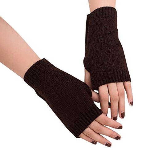 OSYARD Damen long Sleeve Gloves kaffee einheitsgröße