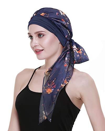 FocusCare Quimio Headwear pre - Atado Cabeza Envuelve Bandana pañuelo Turbante para el Cancer la quimioterapia médica los Pacientes Regalos 🔥