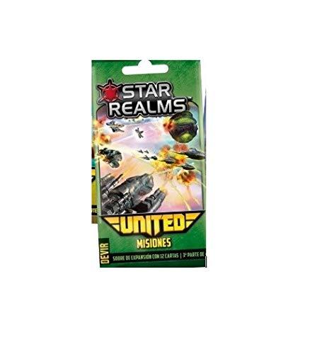Devir Star Realms United: misiones - Expansión Juego de Mesa [Castellano]