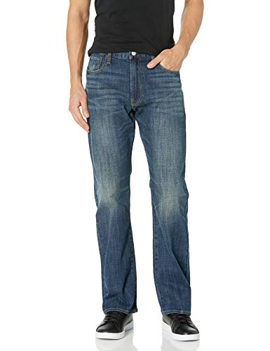 Lucky Brand Men's 181 Relaxed Straight Jean, Lakewood, 36W X 30L