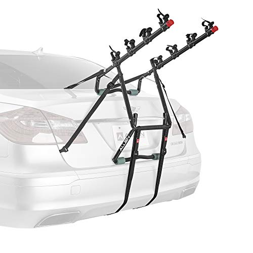 Allen Sports Deluxe 4-Bike Trunk Mount Rack, Model 104DB-R