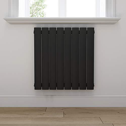 Design Heizkörper 630x616mm Einlagig Badezimmer/Wohnraum Seitenanschluss Antrazit Flachheizkörper Badheizkörper Radiator