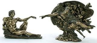 Michelangelo the Creation of Adam Statue