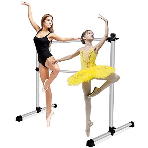 LIVHOOU Ballettstange Freistehend 123cm...