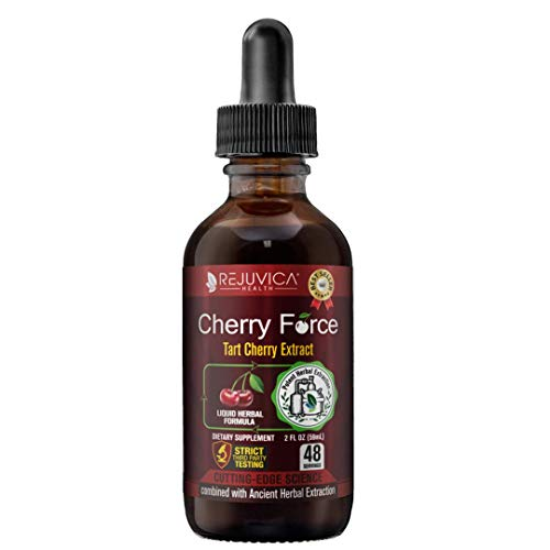 Cherry Force - Real Tart Cherry | All-Natural Liquid Solution for 2X Absorption | Uric Acid & Inflammation Support