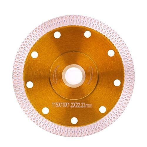 TGRTY Hojas de Sierra Circular para Acabado Ultrafino Hoja de Sierra de cerámica de Diamante súper Delgada de 4.5 Pulgadas 115 mm for Cortar la Teja de Porcelana Hoja de Sierra Circular Afilada