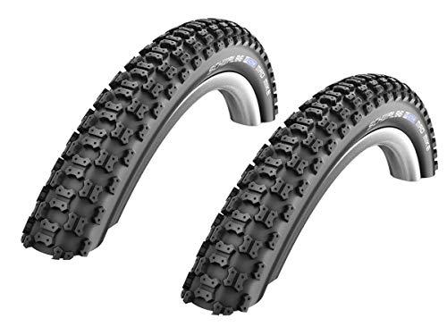 Unbekannt 2 Stück Schwalbe Mad Mike Fahrrad Reifen (BMX, Kinderrad) // 57-305 (16x2,125