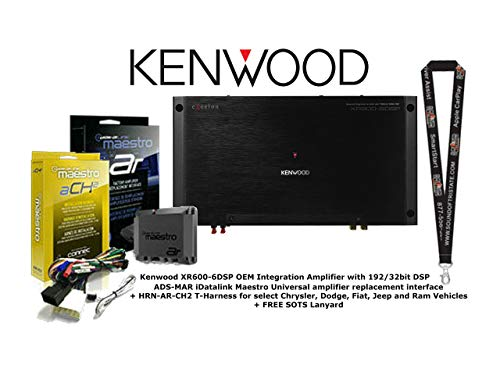 Affordable Kenwood OEM Integration Amplifier w/ 192/32bit DSP with Universal Amplifier Replacement I...