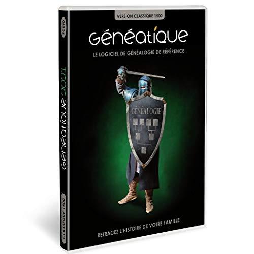 GENEATIQUE 2021 Classique 1500 en Coffret pour Vos Arbres généalogiques