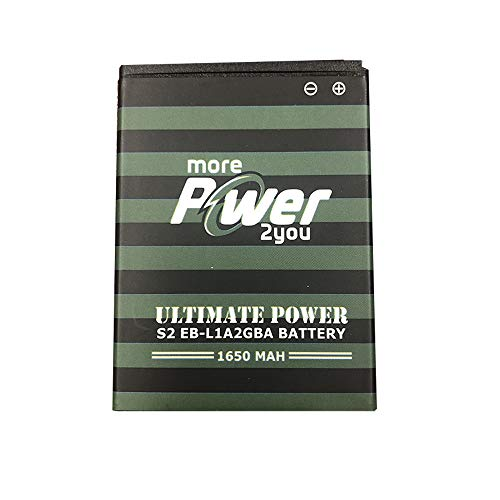MorePower2You for Samsung S2 OEM 1850 mAh EB-L1A2GBA High Capacity for Samsung Galaxy S2 SGH-i777