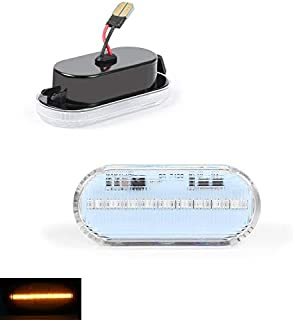 DoLED LED Seitenblinker Blinker schwarz black clear klar Klarglas D28I23O13 B