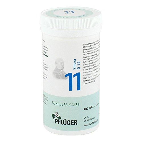 Pflüger Schüßler-Salze 11 Silicea D 12, 400 St. Tabletten