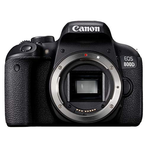 Canon EOS 800D 24.2MP Digital SLR Camera Body (Black)