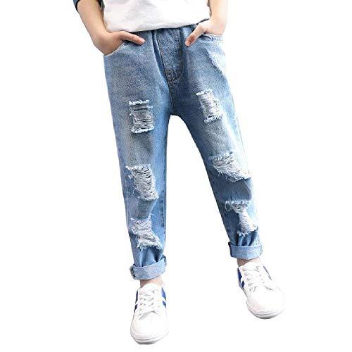 nobrand Ragazzi Abbigliamento Buco Jeans Abbigliamento per BambiniVita Elastica Jeans Azzurri per Ragazzi