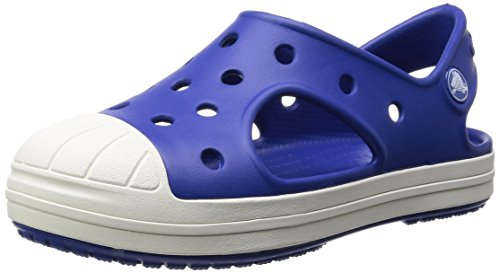 Crocs Crocs Bump It K, Unisex-Kinder Sandalen, Blau (Cerulean Blue 4O5), 33/34 EU