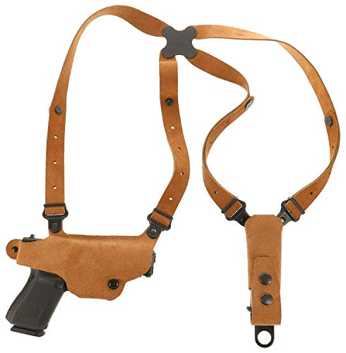 """Galco Classic Lite Shoulder Holster S&W M&P Shield 3"""" RH Natural - CL652"""