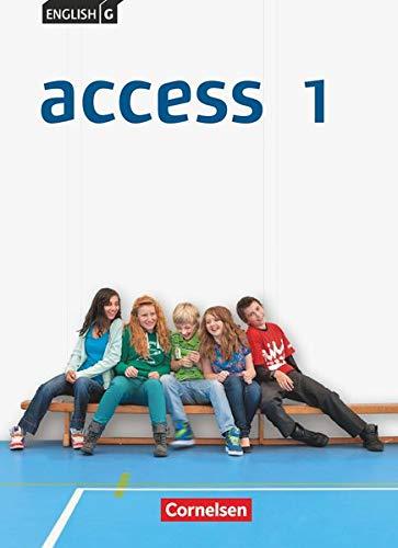 English G Access - Allgemeine Ausgabe - Band 1: 5. Schuljahr: Schülerbuch - Festeinband