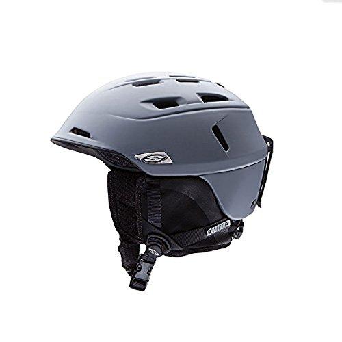 Smith Optics Unisex Adult Camber Snow Sports Helmet (Matte Charcoal, Large)
