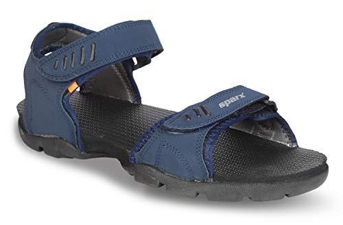 Sparx Men's Navy Blue Sandals - 8 UK (SS-101)