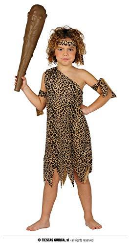 FIESTAS GUIRCA Disfraz Infantil cavernícola Edad de Piedra Edad 7 - 9 años
