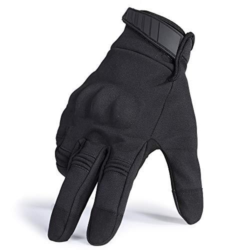 LLZGPZST Tactische handschoenen touchscreen waterdicht winddicht koud weer winterwarmer snowboard tactische harde enkels volledige vingerhandschoenen